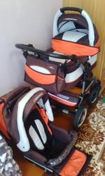 Коляска детская 2 в 1 Riko Alpina Ranger